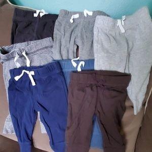 Bundle of Carters Pants